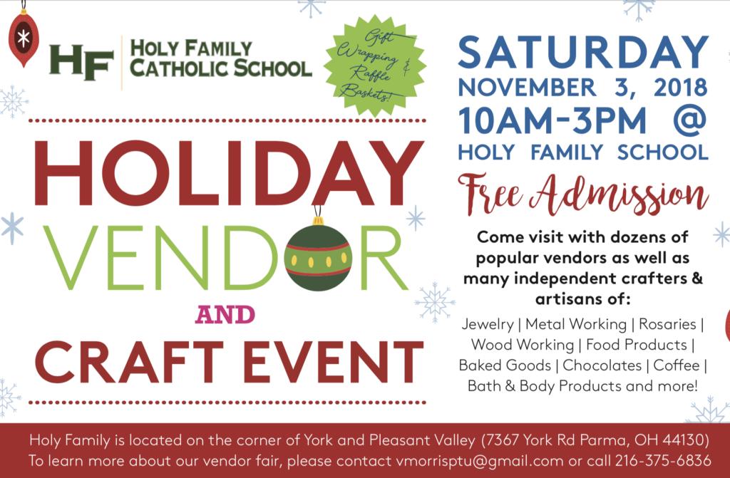 Holiday Vendor Fair and Craft Event